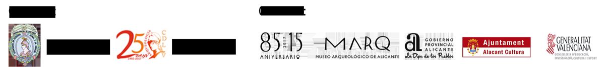 Logos Jornadas de Arqueología de la Comunidad Valenciana