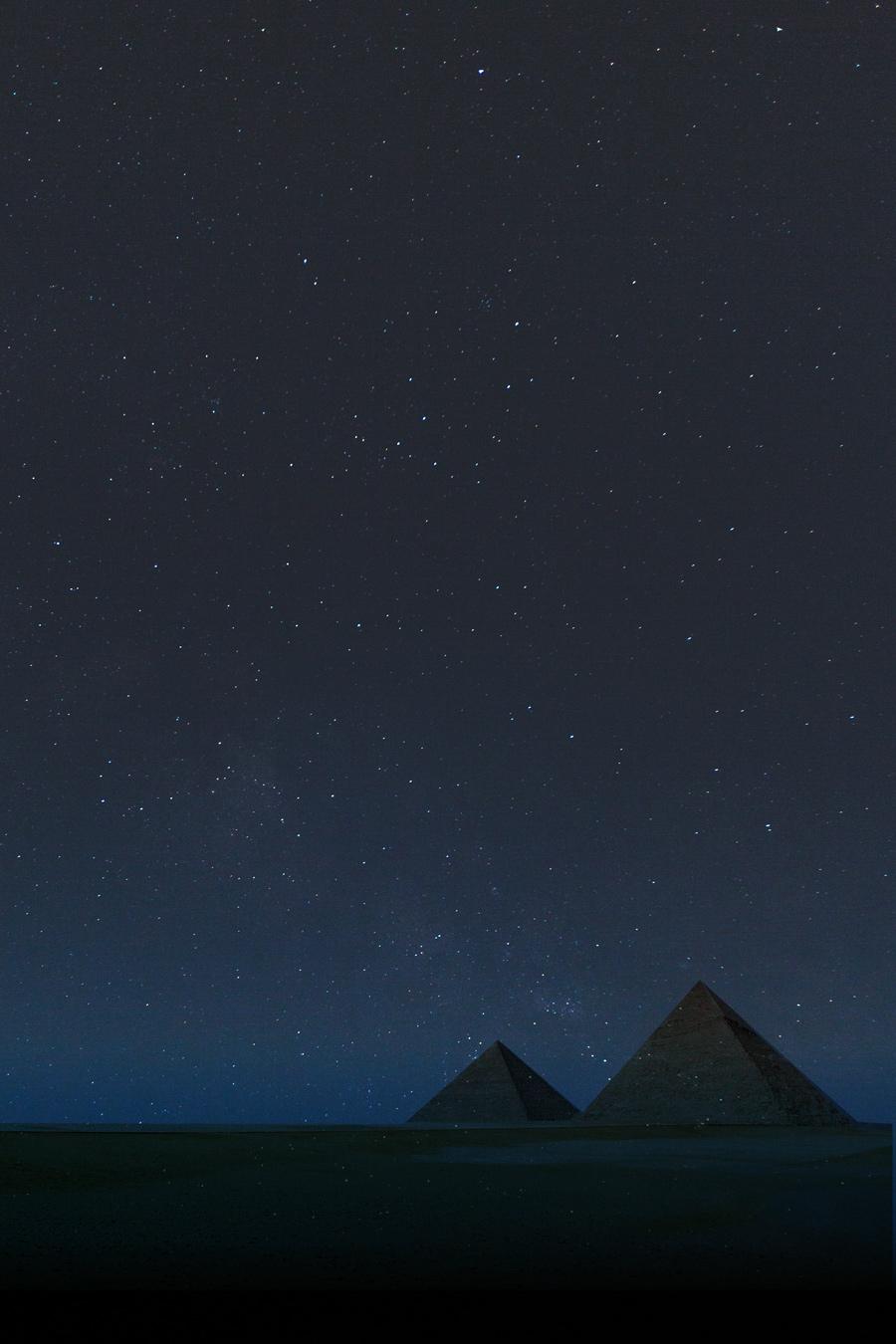 Piramides y astronomía