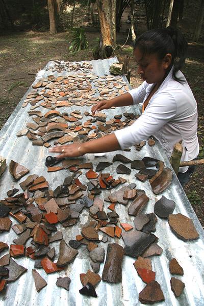 Los mayas de cerca
