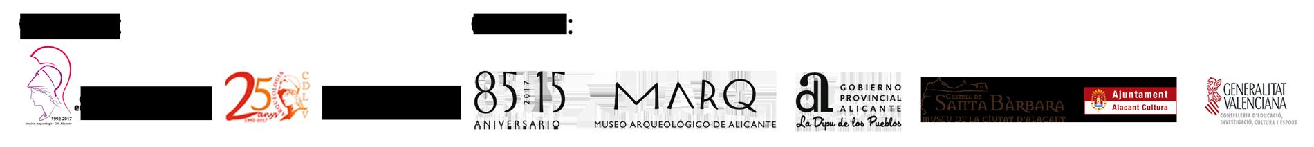 Logos VI Jornadas d'Arqueologia de la Comunitat Valenciana