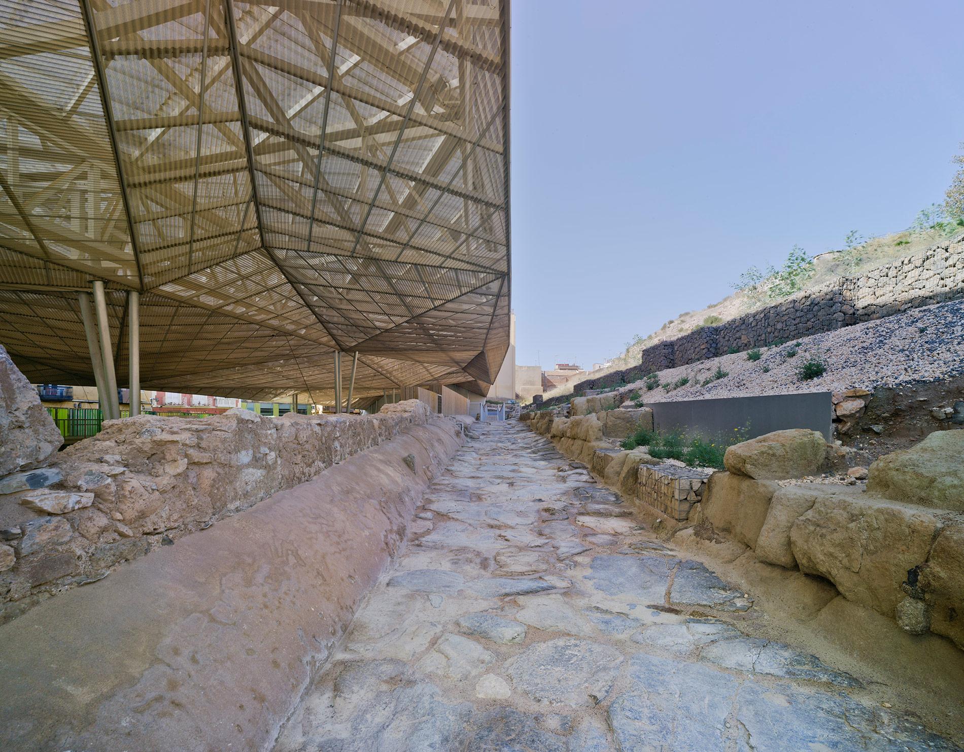 Barrio romano del Molinete - Cartagena - Decumano I