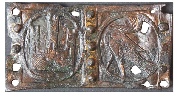 Hebilla de origen medieval