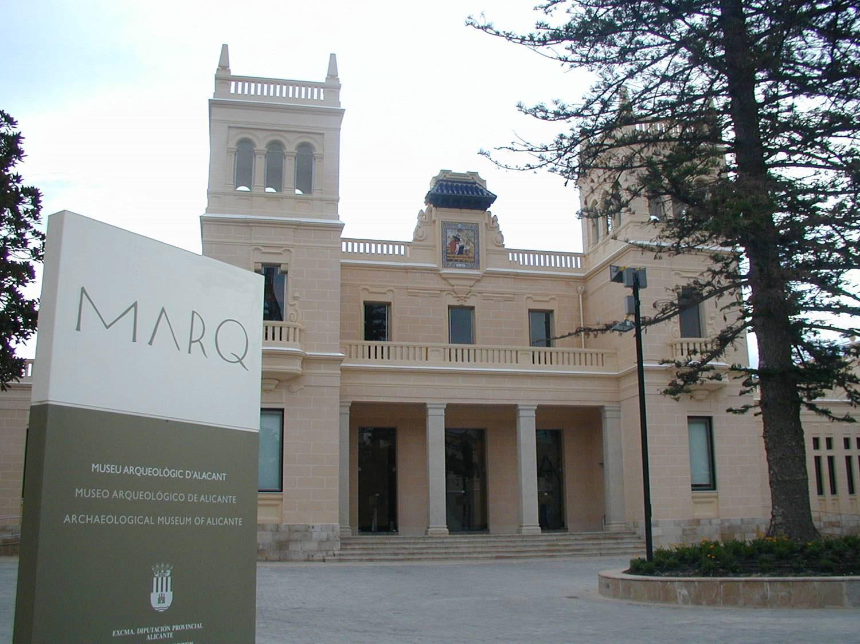 Fachada del MARQ en Alicante