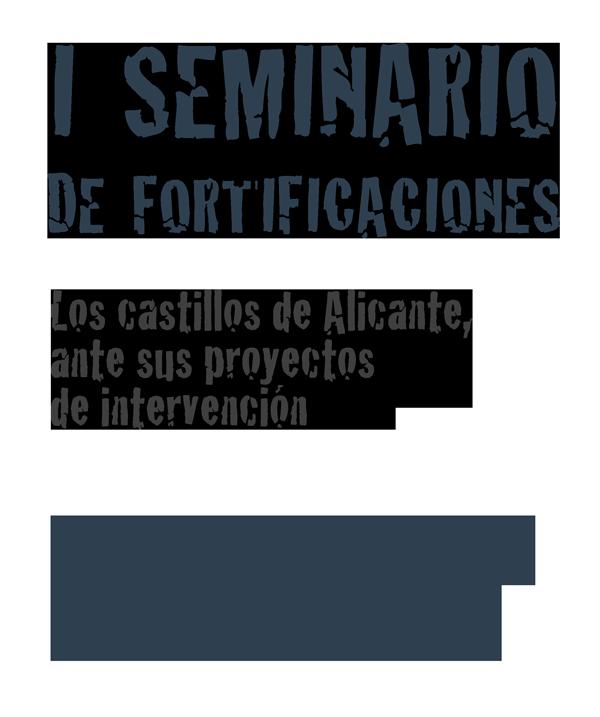 Logo I Seminario Fortificaciones