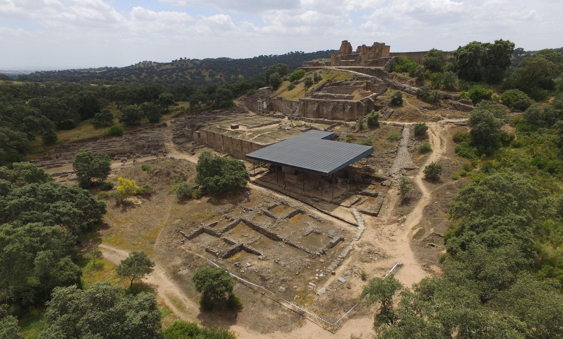 Yacimiento arqueológico de Munigua